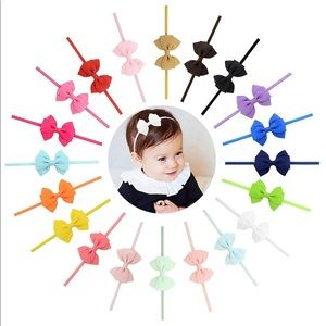 Other - 20 Pcs Baby Girls Hair Bows Headbands
